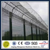 Wholesale High quality 358 security airpory fence with razor barbed wire from china suppliers