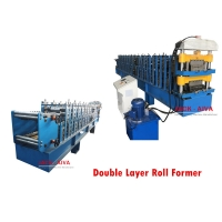 China Double layer Roll Former, Customized Roll Forming Machine on sale