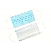 Wholesale Blue Safety OEM Non Woven Disposable Earloop Face Mask from china suppliers