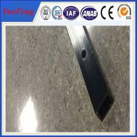 Wholesale 6061 t6 aluminum quality factory square tube extrusion profile / cnc drilling square tube from china suppliers