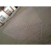 Wholesale Galfan Coated Hexagonal Rock Gabion Baskets With 350 - 550Mpa Tensile Strength from china suppliers