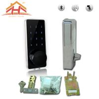 Wholesale High Security Bluetooth Smart Door Lock Touch Screen Keyless Wireless Remote Control from china suppliers