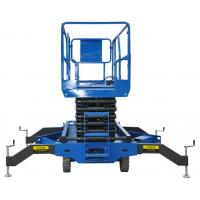 Buy cheap 10m 300Kg Scissor Lift with Motorized Device Electric Aerial Work Platform for from wholesalers