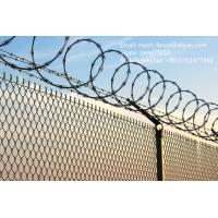 Wholesale High security concertina razor barbed wire fence from china suppliers