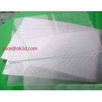 Wholesale Line Lenticular Sheet materials OK3D Widely-used Plastic PS/PET Material 75/100/161 Lpi 3D Film Lenticular Lens Sheet from china suppliers