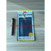 Wholesale Re - Sealable Zipper Moisturizing Cigar Humidor Bags With Printed Logo from china suppliers