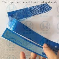 Wholesale PET Packing Security Seal Tape One Time Used Transportation Free Shipping from china suppliers