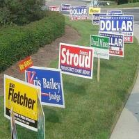 Wholesale Full Color Printing Yard Signs , 96 X 48 Lawn Signs from china suppliers