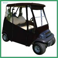 Wholesale Classic Accessories 3 Sided Golf Cart Enclosures With Zippered Door Golf Cart Rain Cover from china suppliers