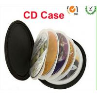 Wholesale Round 12pages or 24sleeves neoprene CD case with strap print, for Japan market from china suppliers