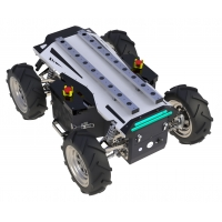 Buy cheap Wireless Control Rlsdp 2.0 Ip65 4 Wheel Robot Chassis from wholesalers