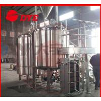 Buy cheap 10BBL Custom Commercial Beer Brewing Equipment , Draught Beer Machine from wholesalers