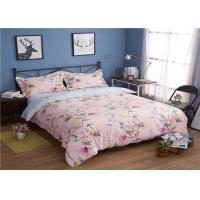 Wholesale 330TC 60S Flower Pattern And Washed Cotton Bedding Sets Quilt / Pillowcase / Duvet Cover from china suppliers