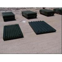 China Steel Jaw Plates Spare Crusher Wear Parts For Jaw Crushers More than 50HRC wholesale