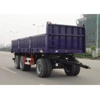 Wholesale Multifunction 30ft Drawbar Drop Side Trailer Tri Axles For Bulk Cargo Transport from china suppliers