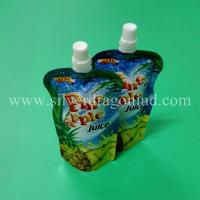 Stand up spout pouch for 250ml pineapple juice packing