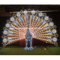 Wholesale large outdoor peacock christmas decorations from china suppliers