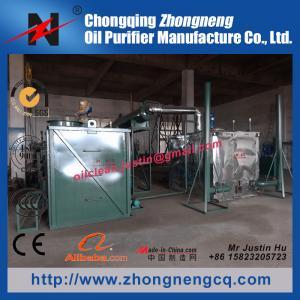 Engine Oil Distillation to Base Oil System /