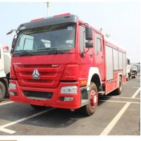 Wholesale 290 Hp Howo 4×2 Rescue Fire Truck With 8000kg Water Capacity Model SHMC5256 from china suppliers