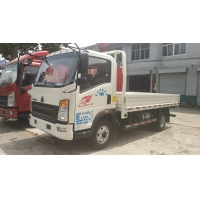Wholesale ISO Passed Sinotruk 10T HOWO 4x2 Euro3 Light Cargo Truck Left Hand Drive With AC from china suppliers