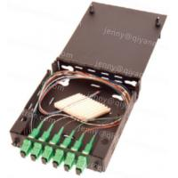 Wholesale Indoor Fiber Optic Wall Mount Termination Box, Black from china suppliers