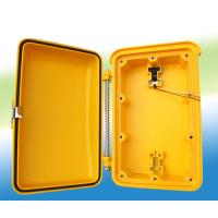 Wholesale Aluminium Alloy Weatherproof Telephone Junction Box Yellow Wet Proof IP66 from china suppliers