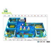 Wholesale Colorful Theme Kids Indoor Play Centre , Toddler Play Zone For 3 - 15 Years Old from china suppliers