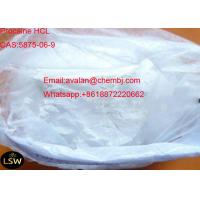 Wholesale CAS 5875-06-9 Long Acting Local Anesthetic Pain Killer Drugs Proparacaine Hydrochloride / Proparacaine HCL from china suppliers