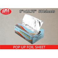 Wholesale Food Grade Pop Up Foil Sheets Aluminium Foil In Piece Shape Interfolded 8011-0 Temper from china suppliers
