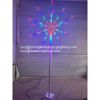 Buy cheap Outdoor led firework light christmas wedding events decoration from wholesalers
