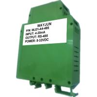 China WAYJUN one channel Analog  signal to RS485 Converter A/D Converter  0-5V to rs232 with Modbus 12bits on sale