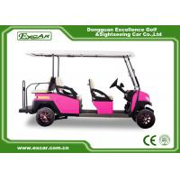 China 48 Voltage Golf Electric Car 350A Controlller 3.7KW USA Motor CE Certificate on sale