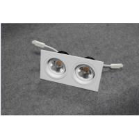 Square LED ceiling lights with  double venture,180 degree rotating structure, 2*7w