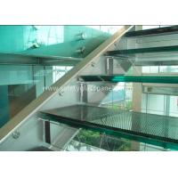 China Double Glazed Window Laminated Safety Glass Panels 4.38mm Annealed Security wholesale