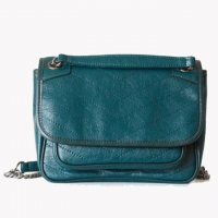 Buy cheap Newest Design Retro Genuine Leather Ladies Cross Body Shoulder Bag from wholesalers