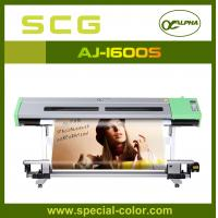Wholesale 1.6m eco solvent printing machine ALPHA AJ1600S,with dx5 print head from china suppliers