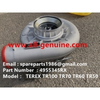 Wholesale 4955345RX TURBO CHARGER CUMMINS ENGINE TEREX UNIT RIG BUCYRUS MT4400AC MT5500 MT3600 NTE240 NTE260 NHL DUMP TRUCK HAULER from china suppliers