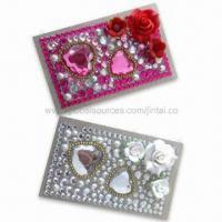Wholesale Rhinestone Bling Tattoo Stickers, OEM and ODM Orders are Welcome, Available in Various Colors from china suppliers