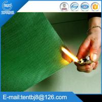 China 100% Polyester with PVC coated Fire Resistant Fabric wholesale