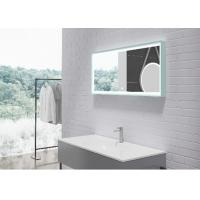 Wholesale Indoor Silver LED Bathroom Mirror Customized Shape And Color from china suppliers