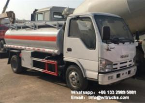 Wholesale Brand New Isuzu5cbm Fuel Dispenser Truck 5 ton Diesel Refueller Tanker Haiti for Sale from china suppliers