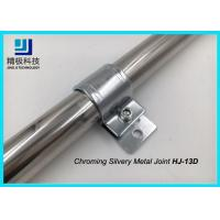 China CRS Cold Rolled Steel Clamp Metal Pipe Bracket with Glossy Finish on sale
