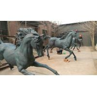 Wholesale New Bronze horse sculptures ,outdoor brass horse statues for sculptor and artist, China sculpture supplier from china suppliers