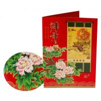 Wholesale Custom New Year, Christmas gift Matte lamination or UV coating Greetings Card Printers from china suppliers