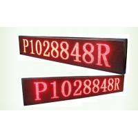 China 32*16 Resolution p10 single red Bi Color LED Display board 1/4 Scan method wholesale