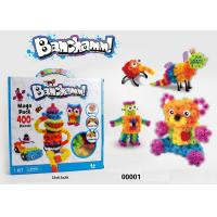 Wholesale 400Pcs ABS Sticky Thorn Balls Building And Construction Toys For Age 4 Years Boys / Girls from china suppliers