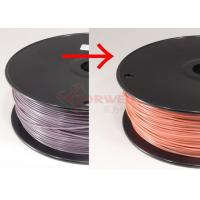 Wholesale ABS 3MM Color Changed 3D Printing Filament Purple To Pink By Temperature , RoHs SGS from china suppliers
