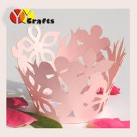 Wholesale Wedding paper cupcake wrappers party favor fancy lace cupcake case from china suppliers