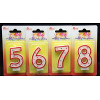Best-sellingdot number birthday candle