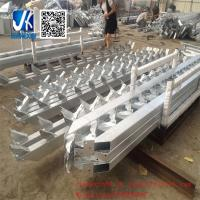 Wholesale Prefabricated steel metal working platform with steel staircase from china suppliers